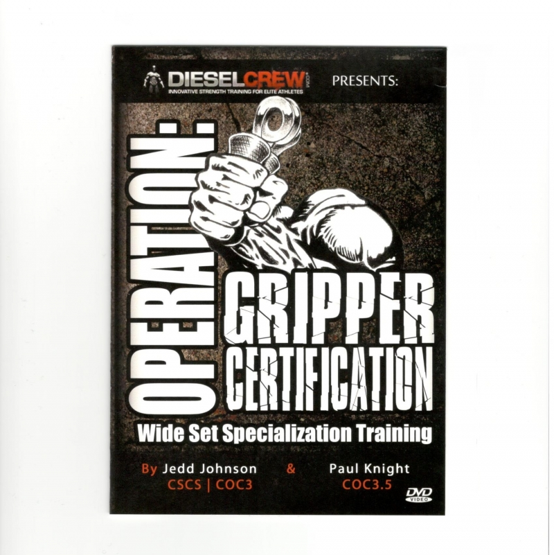 Hand Gripper Training DVD