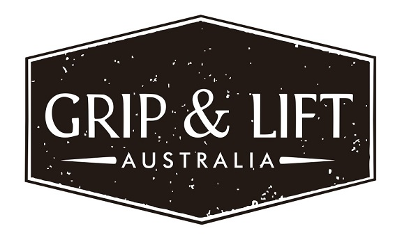 Grip & Lift Australia Sticky Logo