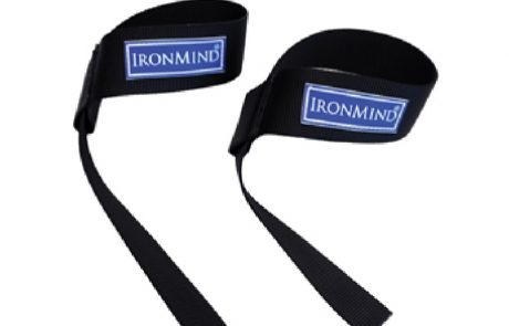 IronMind Black and Fourth Lifting Straps