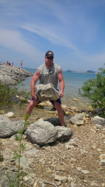 Rob McMurren Grip Sport Champion