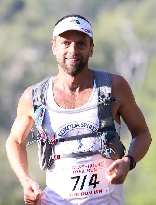 Ultra Marathon Runner David Coombs