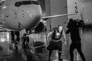 Jordan BIGGIE Steffens Qantas Plane Pull